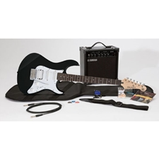 Yamaha GIGMAKEREG-BLK GigMaker Electric Guitar Package - Black