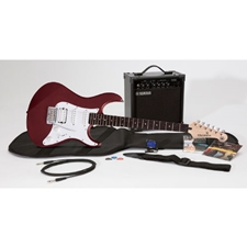 Yamaha GIGMAKEREG-RED GigMaker Electric Guitar Package - Red