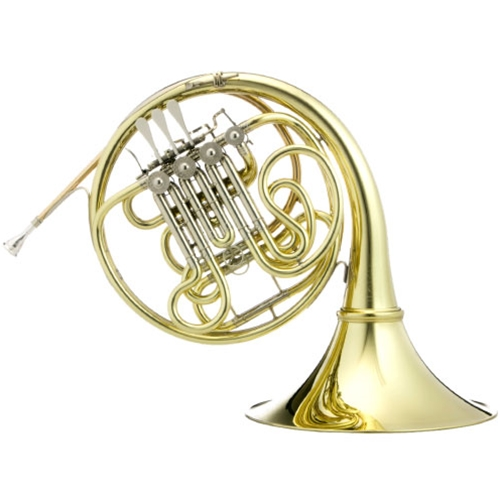 Hans Hoyer HHG10L1A-1-0 G10 Professional Double French Horn with Mechanical Linkage